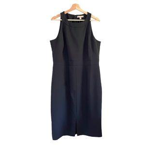 NWT Banana Republic Black Sleeveless Sheath Dress